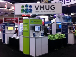 VMUG Booth - VMworld