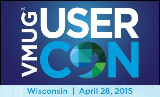 WI-VMUG UserCon - 2015